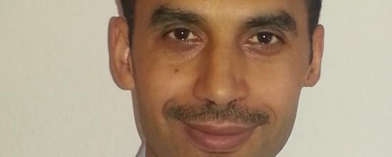 Neuer Mitarbeiter im Vertrieb: Hafez Hicheri kann nicht nur Karate